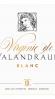 Virginie de Valandraud Blanc 2014