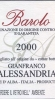 Gianfranco Alessandria Barolo DOCG 2009 HALF BOTTLE