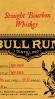 Bull Run Straight Bourbon Whiskey