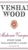 Evesham Wood Pinot Noir Mahonia Vineyard Willamette Valley