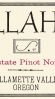 Illahe Vineyards Estate Pinot Noir