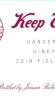 Keep Wines Red Field Blend Contra Costa County
