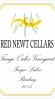 Red Newt Riesling Tango Oaks Vineyard