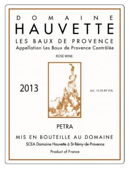 Domaine Hauvette Baux de Provence Rosé