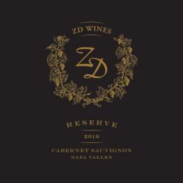 ZD Wines Reserve Cabernet Sauvignon Napa Valley