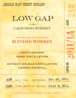 2 Year-Old Blended Whiskey