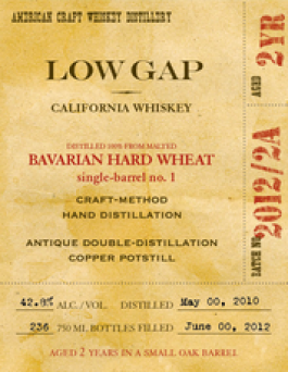 2 Year-Old Wheat Whiskey