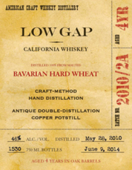 4 Year-Old Wheat Whiskey
