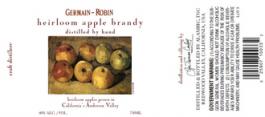 Heirloom Apple Brandy