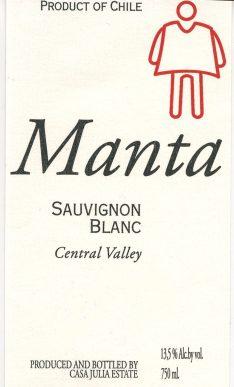 Manta Maule Valley Sauvignon Blanc