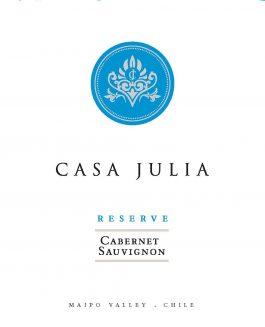 Casa Julia Cabernet Sauvignon Reserve Maipo Valley
