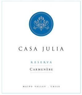 Casa Julia Carménère Reserve