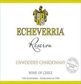 Echeverria Chardonnay Reserva