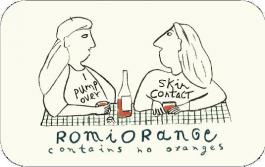 Echeverria RomiOrange Sauvignon Blanc