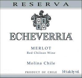 Echeverria Merlot Gran Reserva