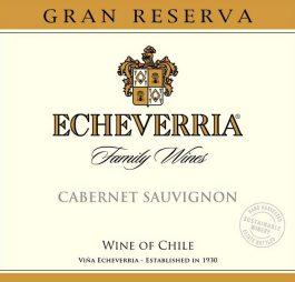 Echeverria Cabernet Sauvignon Gran Reserva