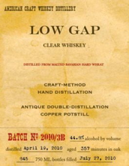 Clear Rye Whiskey