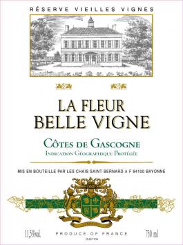 La Fleur Belle Vigne Cotes de Gascogne Blanc