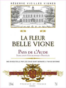 La Fleur Belle Vigne Vin de Pays de l'Aude