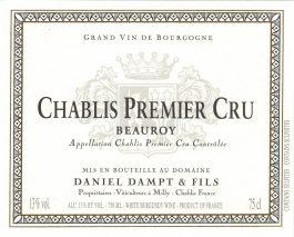 Daniel Dampt Chablis 1er Cru