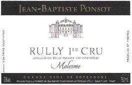 Domaine Jean-Baptiste Ponsot Rully 1er Cru