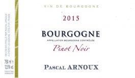 Pascal Arnoux Bourgogne Pinot Noir