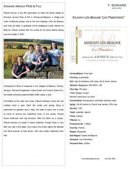 Domaine Arnoux Savigny-les-Beaune