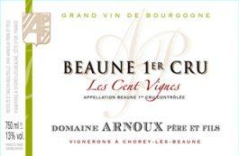 Domaine Arnoux Beaune 1er Cru