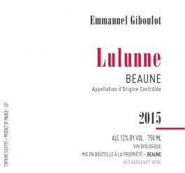 Giboulot Beaune