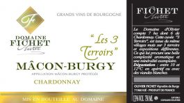Domaine Fichet Macon-Burgy