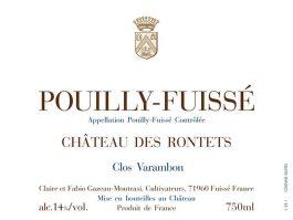 Château des Rontets Pouilly Fuisse