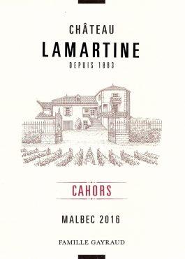 Château Lamartine Cahors 2013