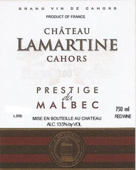 Château Lamartine Cahors