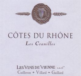 Vins de Vienne Côtes du Rhône