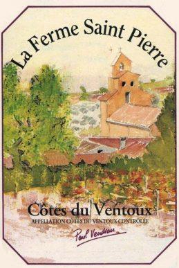 La Ferme St Pierre Ventoux Rouge 2014