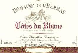 Domaine de L'Harmas Cotes du Rhone