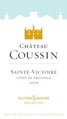 Château Coussin Rose Sainte Victoire Côtes de Provence