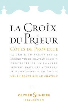 La Croix du Prieur Rosé Côtes de Provence