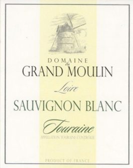 Domaine du Grand Moulin Touraine Sauvignon Blanc
