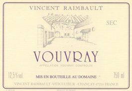 Vincent Raimbault Vouvray Sec