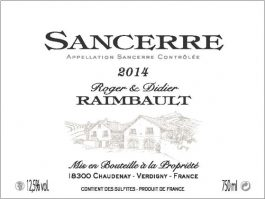 Domaine Didier Raimbault Sancerre
