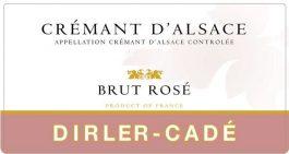 Dirler-Cadé Cremant d'Alsace Brut Nature Rosé