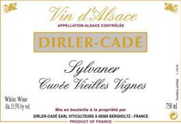 Dirler-Cadé Sylvaner Cuvee Vieille Vignesw