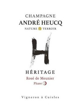 Champagne André Heucq Rosé Phase 1 Extra Brut