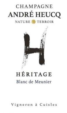 Champagne André Heucq Blanc de Meunier