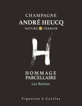 Champagne André Heucq Parcellaire Les Roches Millésime 2014