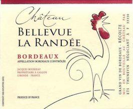 Chateau Bellevue la Randee Bordeaux Rouge
