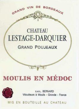 Château Lestage Darquier Moulis en Medoc Cru Bourgeois