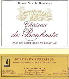 Château de Bonhoste (SlimKeg) Bordeaux Rouge 2013 KEG