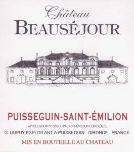 Château Beauséjour Cuvée Sulfite Free Cabernet Franc 2014